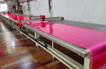 Cutting material machine