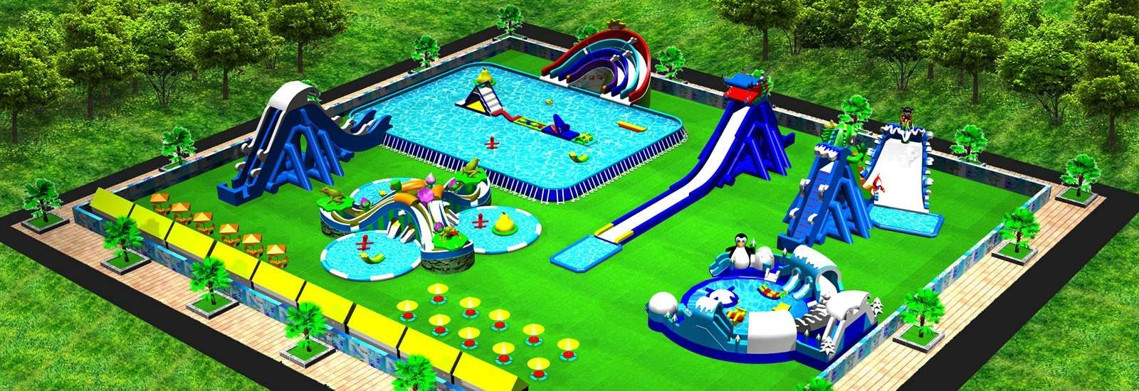 China best Inflatable Water Parks on sales
