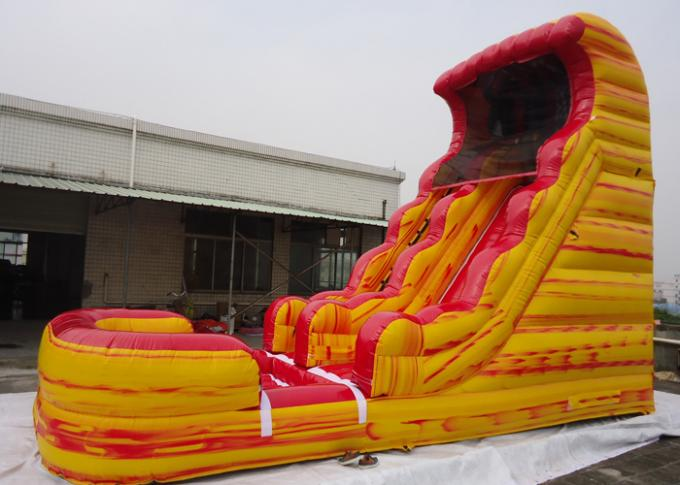 Giant Inflatable Water Slide With Pool For Kids Adults