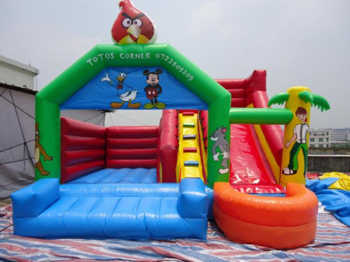 Small Slide Mini Pool Commercial Bounce Houses Inflatable Bouncer