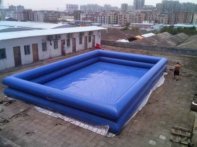 Pvc tarpaulin swimming pool inflatable swimming for Swimming pool 3m durchmesser