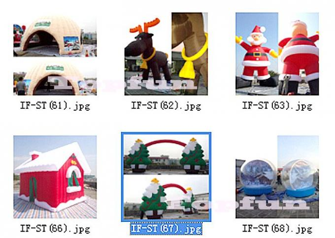 5 m High Inflatable Merry Christmas Tree Adverting Outdoor Decorate Portable