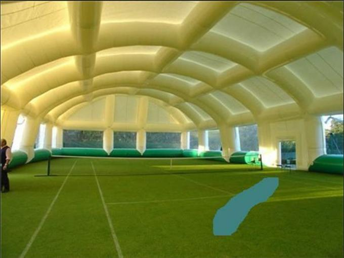 outdoor events giant inflatable event tent   activities inflatable tennis court