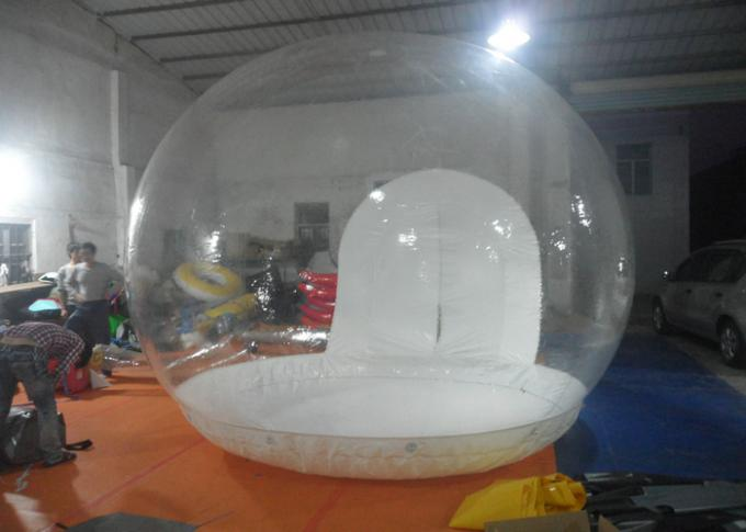 4m Diameter Inflatable Clear Bubble Tent Inflatable Transparent Pvc Dome Tent