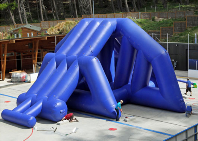 53.3m Long Hippo Water Slide Games Inflatable With One Slide And 4pieces Free Blowers