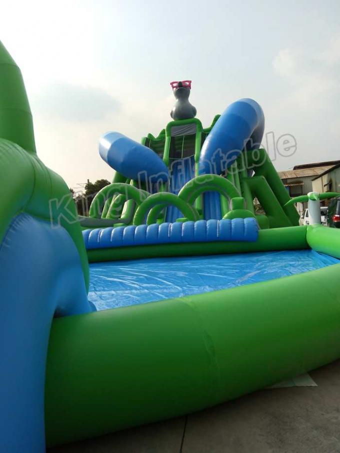 Outdoor Duck Shape Giant Inflatable Blow Up Water Slide ...