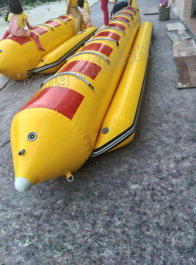Exciting Inflatable Fishing Boats 5 Person Fishing Boat For Water Sports