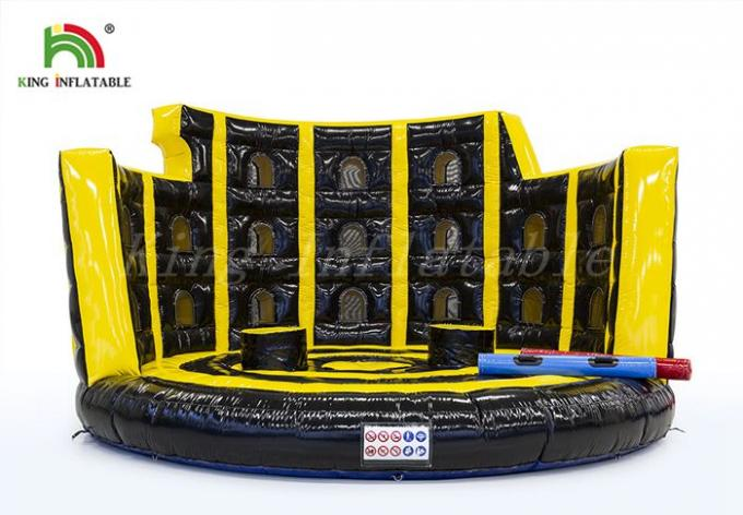 Yellow Black  Blow Up Gladiator Arena Amazing Design For Sport Game 	CE  UL