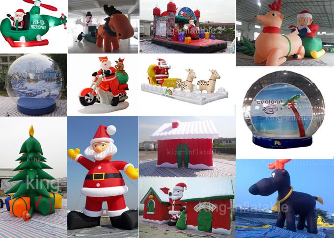 5*4*4 m Inflatable Advertising Products Festival Decoration Christmas Red House Tent
