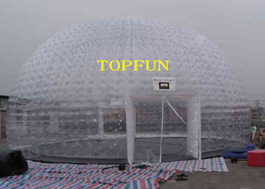 8m Diameter Inflatable Party Tent Clear Dome Tent Noncontinuous Type
