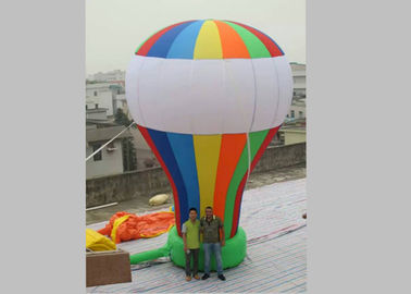 0.45mm PVC Tarpaulin Inflatable Advertising Balloons Rainbow Color