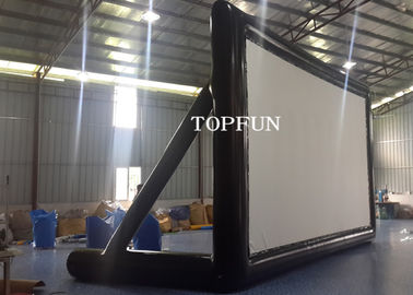 PVC Tarpaulin Outdoor Inflatable Movie Screen Project Screen 7 x 4 m