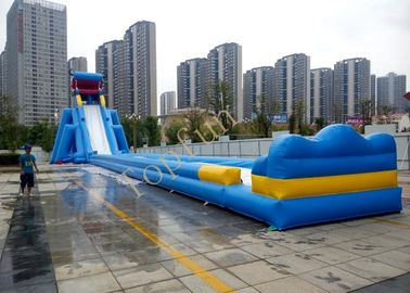China Giant Dragon Inflatable Water Slide Beach Slide With Pool For Kids And Adults supplier