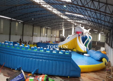 Commercial Exciting Blue Inflatable Swimming Pools For