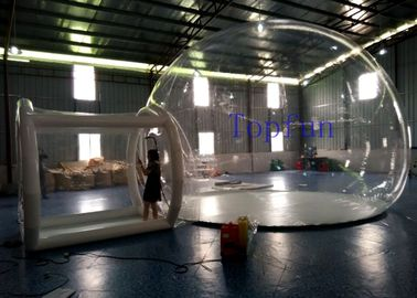 OEM Outdoor Inflatable Clear Bubble Tent 6m Dia Inflatable Camping Tent