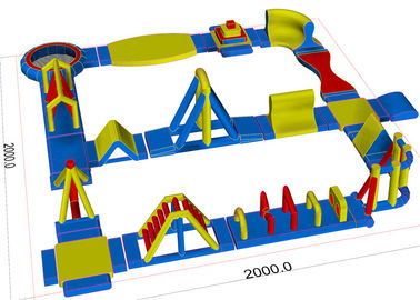 China Sea Water Games Inflatable Backyard Water Park For Water Games Equipments supplier