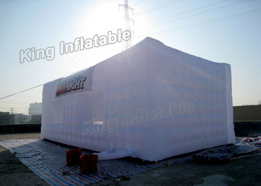 Good Quality Inflatable Water Parks & Waterproof  Sewn White PVC Inflatable Event Tent Fast Inflated For Activity on sale