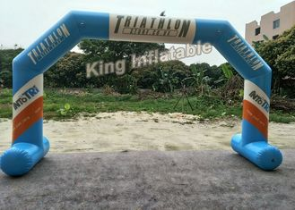 Inflatable Airtight Advertising Arch , Custom Inflatable Arch With PVC Tarpauline Material
