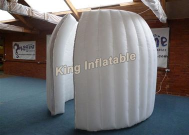 White 2M Internal Diameter Inflatable Pod-Clamshell ,  Inflatable Exhibition Tent