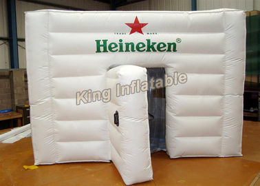 PVC Tarpaulin White Inflatable Event Tent With Logo Printing SGS