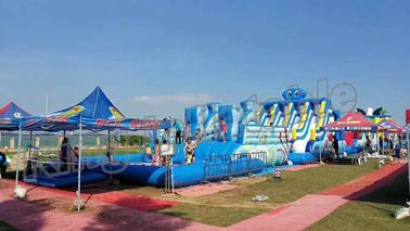 Backyard Big Amazing Inflatable Water Parks Kid And Adult Outdoor Games