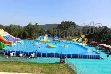 Popular Inflatable Water Activities , Amusement Water Parks With CE Certificate