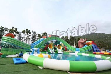 Fun Outdoor Amusement Park Inflatable Water Parks For Adults And Childrens