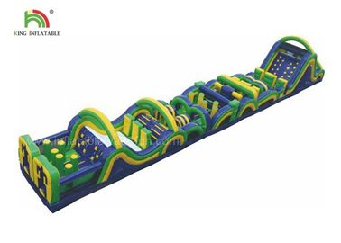 Good Quality Inflatable Water Parks & 26m Long Challenge Adult Inflatable Obstacle Course, Inflatable Sports Games on sale