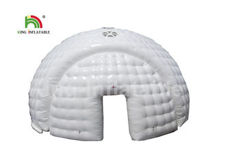 Good Quality Inflatable Water Parks & Commercial White Dome House Shape Airtight Tent For Part Event 1 Year Warranty on sale