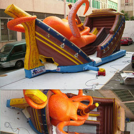 Octopus inflatable pools for kids paradise fun city , inflatable jumpers bouncy house