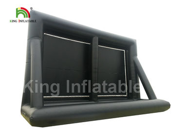 Custom 10m Large Inflatable Projector Screen / Waterproof Outside Movie Screen