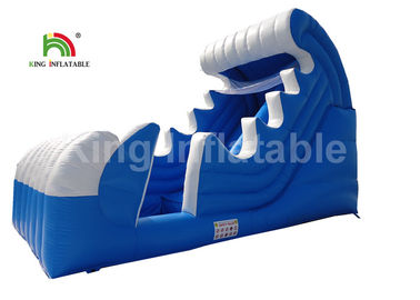 Good Quality Inflatable Water Parks & PVC Tarpaulin Spray Blow Up Water Slide For Pool Customized Ocean Theme on sale