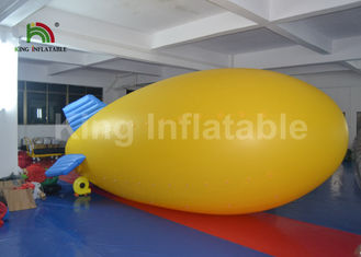 Good Quality Inflatable Water Parks & Outdoor Airship PVC 5m Helium Inflatable Advertising Balloons For Commercial on sale