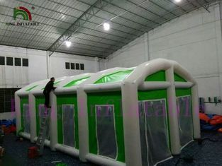 Good Quality Inflatable Water Parks & Green / White Waterproof Giant Inflatable Event Tent Easy Set Up And Dismantle on sale