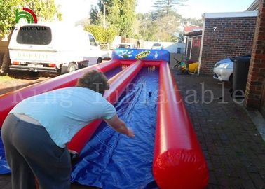 Customized Ourdoor Inflatable Sports Games , Airtight PVC Human Bowling Ball