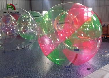 Red Green Clear Aqua Ball Inflatable Water Walking Ball for Kids , Adults
