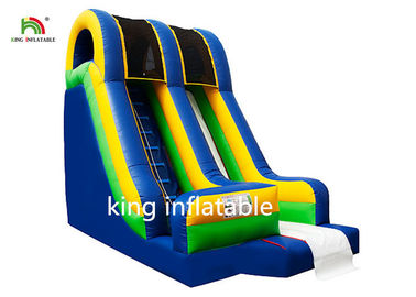 Good Quality Inflatable Water Parks & Blue Inflatable Dry Slip And Slide PVC Tarpaulin Pool Side Entertainment on sale