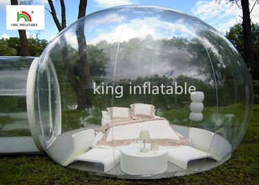 4.5m Transparent Inflatable Bubble Tent With Tunnel For Outdoor Camping Rent