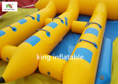Good Quality Inflatable Water Parks & Hot Inflatable Fly Fishing Boats With Motor / Funny Pontoon Boats For Fly Fishing on sale