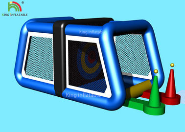 Continuously Inflatable Sports Games Baseball Play For Children Double Stitching 5.4*2.5 m