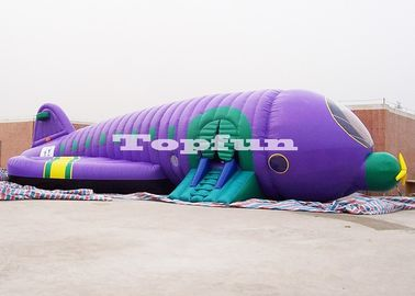 12m Airplane inflatable jump house / inflatable Sun Baby bouncer for rental