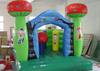 China 210 D Oxford Fabric Commercial Bounce Houses of Kindergarten Theme factory