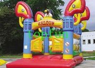 China CE / EN71 Waterproof Commercial Bounce Houses With Eagle Model factory