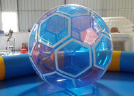 1.0 mm PVC Soccer Ball Inflatable Water Ball , Walking On Water Ball