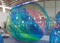 1.0 mm PVC Green Inflatable Water Walking Ball For Amusement Park