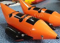 Fire Resistance Double Lance Inflatable Fishing Boats For Water Park CE