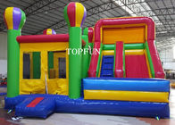 Kids Happy Hop Jumping Castle With Slide For Birthday Party OEM