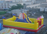 China Big Slide Altman Theme Inflatable Amusement Park For Kids Baby factory