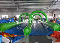Outdoor Exciting 1000 ft Inflatable Slip And Slide PVC Tarpaulin for City Street