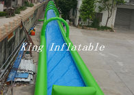 China Single Lane Inflatable Street Water Slide PVC Tarpaulin Slip N Slide For Adults OEM factory